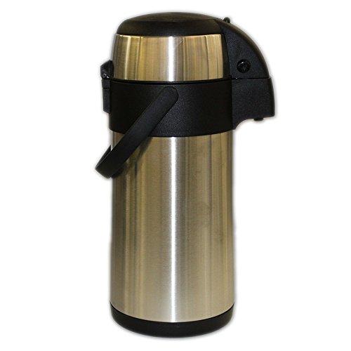 Isolierkanne Airpot/Pumpkanne Inhalt ca. 3 Liter, aus Edelstahl, rostfrei