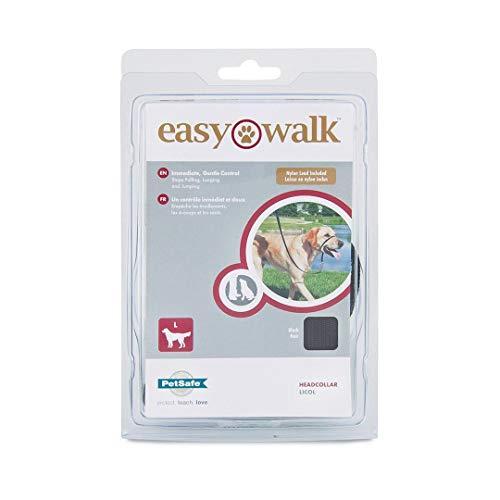 PetSafe Easy Walk Arnés para Perros pequeños/medianos/Grandes, pequeño, Rojo, 1,8 m de Plomo