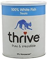 100% white fish 100% real freeze dried treats, 0% nonsense
