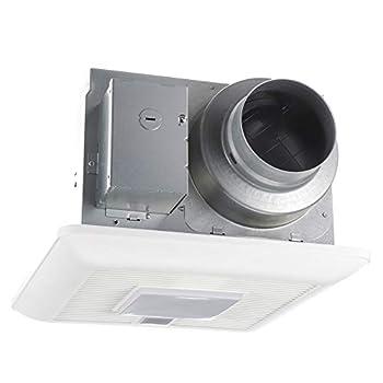 Panasonic FV-0511VQCL1 WhisperSense DC Ventilation Fan with Light 50-80-110 CFM