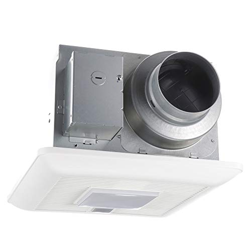 Panasonic FV-0511VQCL1 WhisperSense DC Ventilation Fan with Light, 50-80-110 CFM