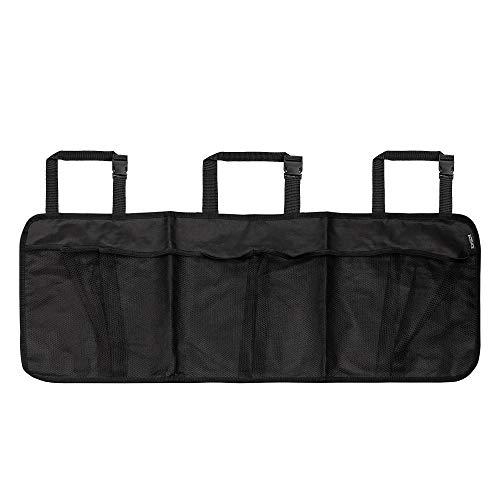 ECENCE Organizer per portabagagli Borsa per portabagagli Automobile Rete portaoggetti Bagagliaio Borsa portaoggetti per Sedile Auto Borsa portaoggetti con Grandi Tasche in Rete 31030105