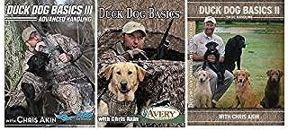 Avery Sporting Duck Dog Basics DVD, 2 DVD, 3 DVD