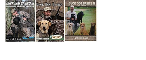 Avery Sporting Duck Dog Basics DVD, 2 DVD, 3 DVD