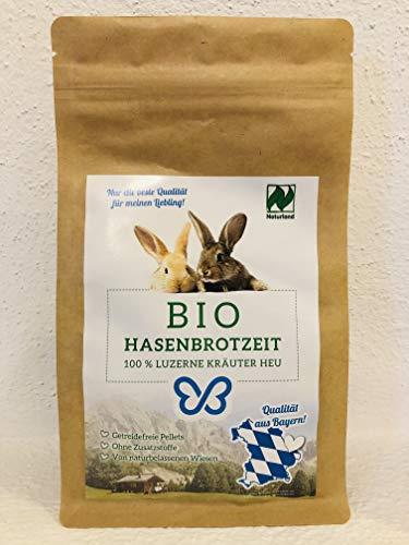 Falter´s Bio-Hasenbrotzeit - Luzerne Kräuter Mix - Qualität aus Bayern - ohne Zusätze (1kg)