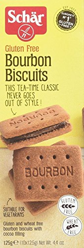 Schar Gluten Free Bourbon Biscuits 125g (Pack of 2)