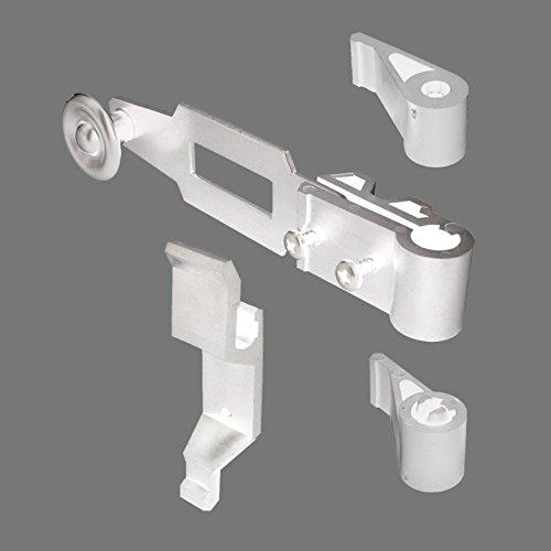 Sachet d'accessoires blanc pour espagnolette de volet battant