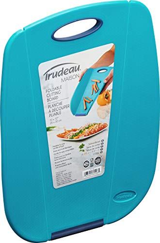 Trudeau Tablas de cortar de cocina. Plegables para verter más fácilmente. Varios tamaños y colores. Apto para lavar en lavavajillas, no se doblan (30 x 25 cm)