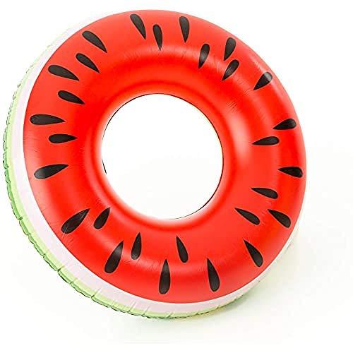 Didak XL Wassermelonen Schwimmreifen, Rot, 110 cm