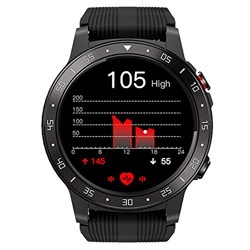 Smart Health Watch Deportes al Aire Libre IP67 Reloj Bluetooth a Prueba de Agua con frecuencia cardíaca Monitor de sueño GPS Podómetro de calorías Cronómetro Brújula Fitness Tracke