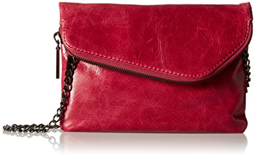 HOBO Hobo Vintage Daria Convertible Cross Body Handbag, Merlot, One Size