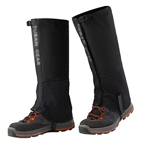 YiLianDa Unisexe Extérieur Snow Jambe Guêtres Legging Housse Etanche Anti Neige Anti Déchirure Pour Randonnée Marche Escalade Chasse