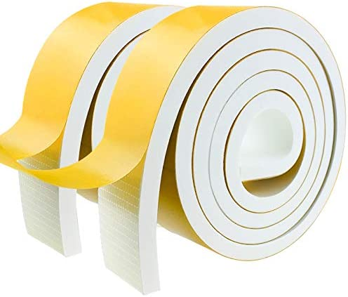 Weather Stripping Door Seal Strip Foam Insulation Tape Self Adhesive for Doors and Windows Soundproof product image