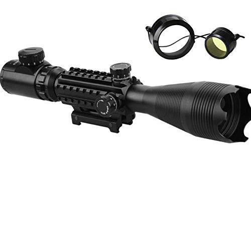 BOMT Zielfernrohr Rot Und Grün Punkt Visier Luftgewehr Gewehr-Bereich mit 11mm/20mm/22mm Montage für Jagd und Sport(4-16X50-EG,20mm Montagen)