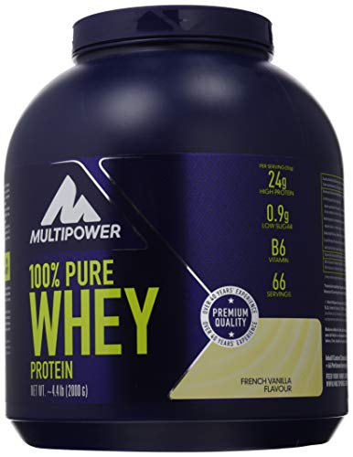 100% pure whey multipower 2kg vaniglia