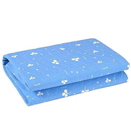 2 Piezas de Almohadillas para incontinencia, Impermeables, Reutilizables, Lavables, Ideales para Adultos, niños (Color : C, Size : 60cm*90cm)