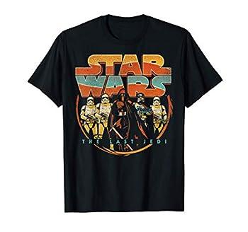 Star Wars Last Jedi Vintage Retro Kylo Ren Graphic T-Shirt T-Shirt