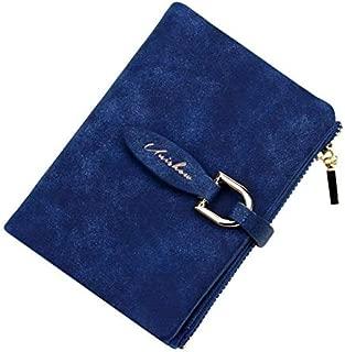 Lady Snap Fastener Short Clutch Vintage Matte Women Wallet Fashion Small Purse Coin Card Holder