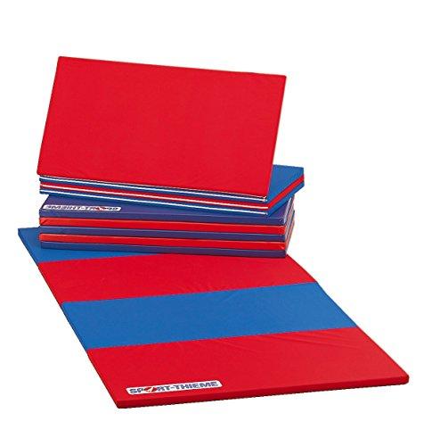 Sport-Thieme Faltmatte, 360x120x3 cm, Blau-Rot