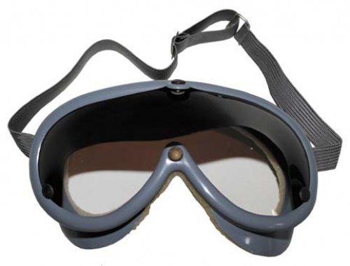Schutzbrille, grau, mit braunem Sonnenschutz, neuw.