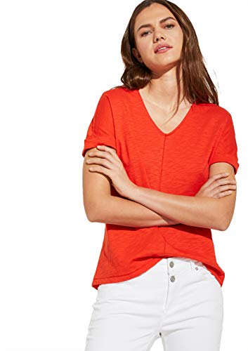 Comma CI Damen 80.899.32.0861 T-Shirt, 3042 red, 42