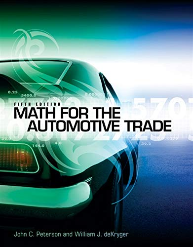 Math for the Automotive Trade (New Automotive & Truck...