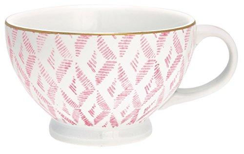 Greengate STWTECWKAS1906 Kassandra Teetasse pink 12,5 cm