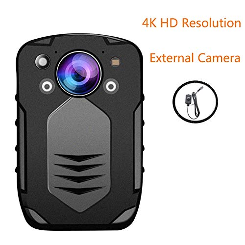 Lowest Prices! Law enforcement recorder Police Video Camera 4K HD Resolution 42 Million Pixels, 15m ...