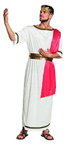 Boland-Imperatore Romano Costume Adulto, Rosso/Bianco, L (54/56), 83551