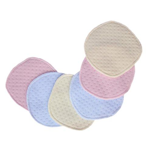 B Baosity 6 discos absorbentes lavables para lactancia reutilizables para mujeres y niñas.