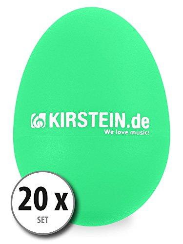 Kirstein ES-10G Egg Shaker verde Set 20 pezzi