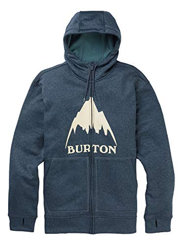 Burton Oak, Felpa con Cappuccio Uomo, Dress Blue Heather, M