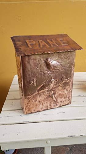 Kassetten brotbox in handgefertigtem Kupfer