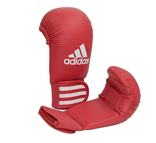 adidas Karate Kumite Faustschützer / Handschutz / Faustschutz, Farbe rot, Gr. XS