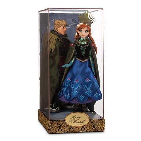 Disney Exclusive Limited Edition Frozen Fairytale Designer Collection Anna and Kristoff Doll Set by Disney