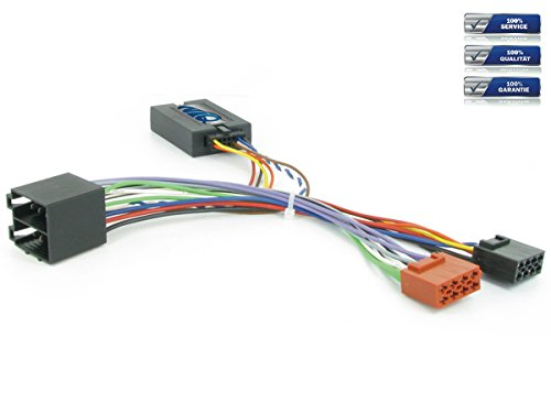 NIQ Lenkradfernbedienungsadapter geeignet für PIONEER Autoradios, kompatibel mit Citroen C2 / C3 / C5 / C8 / Berlingo