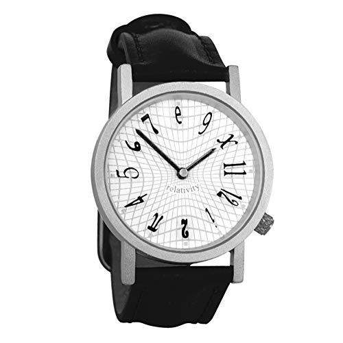 Monsterzeug Lustige Armbanduhr, Relativitätstheorie Uhr, Einstein Uhr, Inkl. Batterie, Herren Uhr