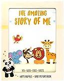 KiddosArt Baby Memory Book. Keepsake Journal, Scrapbook, Photo Album. Record Your Girl or Boy Memories and...