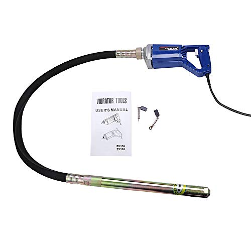 BEAMNOVA Electric Concrete Vibrator Hand Held 13000 Vabration Per Minute 4.9 Ft Shaft