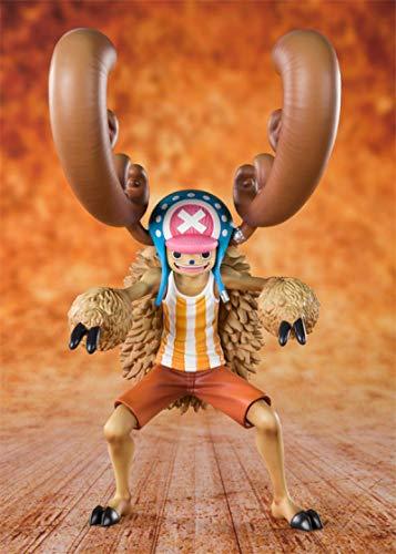 Jqchw One Piece Anime The Straw Hat Pirates Zero Tony Tony Chopper Figura De Dibujos Animados 17.5Cm
