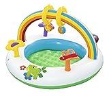 My youth 91cm Kinderrutsche Baby Pool Wasserrutsche Inflatables Kid Pool Kleinkind Pools Kinder Gleitbrett Schwimmbecken im Freien (Color : L0010 small4)