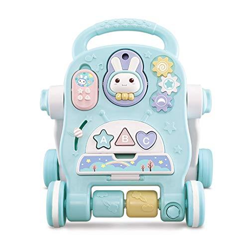 Jouets bébé marcheur Trotteur Multi-Fonctions Anti-Renversement 6-18 Mois Garçons Et Filles Baby Walker Baby Walker FANJIANI