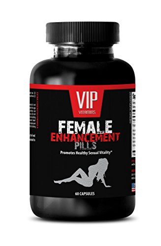 Horny Goat Weed Powder - Female Enhancement Pills - Libido Women (1 Bottle 60 Capsules)