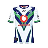 Canterbury Nlle Zélande Warriors 9s NRL 2019 - Maillot de Rugby Domicile - Blanc - Taille L