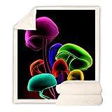 NHBTGH Mantas de Franela Setas De Colores 150(W) x200(H) cm Súper Suaves Esponjosas para El Sofá Cama Colcha de Microfibra, para Adultos y Niños Dormitorio.