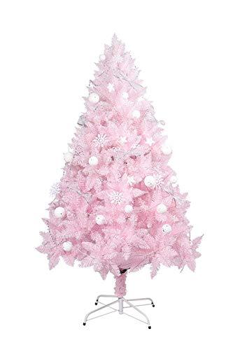N/Z Inicio Equipo Árbol de Navidad Decoración de Navidad Árbol de Navidad Artificial Rosa Árbol de Navidad de Bricolaje con árboles de Soporte (Color: Rosa Tamaño: Tamaño Libre)