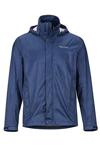 MARMOT Men's PreCip¿ Eco Jacket, Arctic Navy, Medium