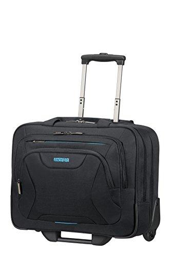 American Tourister 33G09006 Tranvía 22L Poliéster Negro bolsa de equipaje - Bolsa de viaje (22 L, 38 cm, 23 cm, 44 cm, 2,5 kg, 370 x 40 x 270 mm)