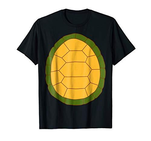 Turtle - 2 sided Easy Halloween Costume Idea - Tee Shirt