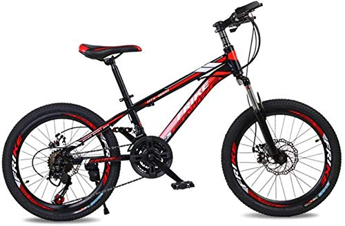 Why Choose HongLianRiven BMX Mountain Bike Bicycle with Fork Suspension 21 Gear Disc Brake Braking S...
